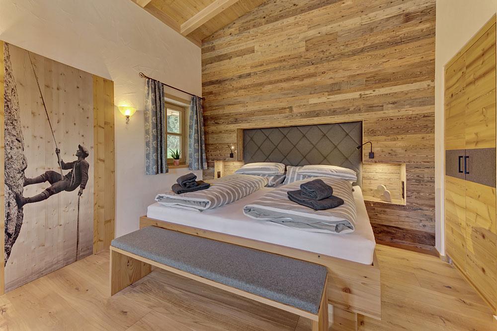 Chalet Schlafzimmer Im Bayerischen Wald